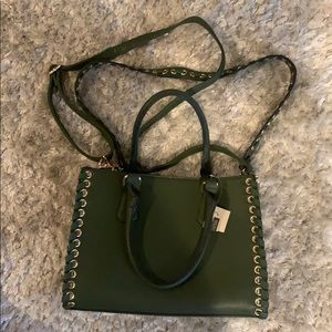 Wilson Leather Large Green Purse